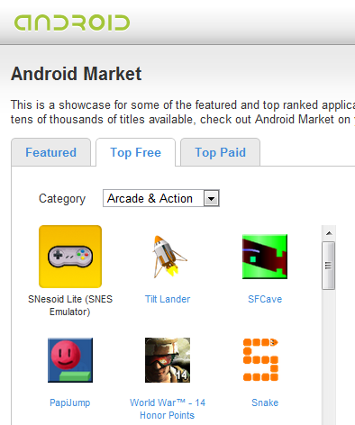 Top 5 Sites to Help You Find Apps for Your Android Phone 1 droidapp market1