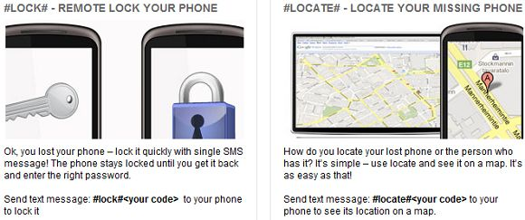 locate my lost cell phone