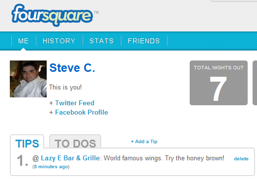 what is foursquare