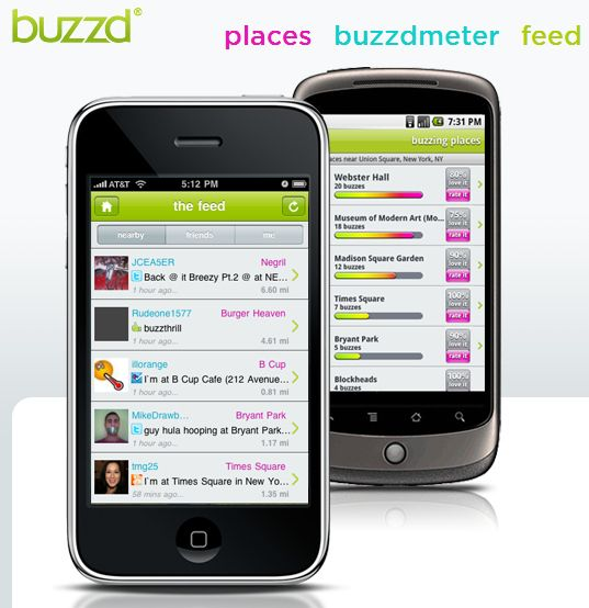 5 Best Location-Based Alternatives to Foursquare 9 fs alt buzzd1