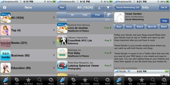 free apps for iphone