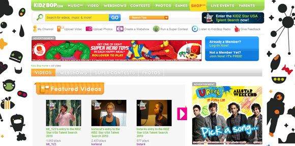 interactive educational websites for kids