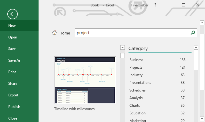 Useful Excel Project Management Templates For Tracking - Excel templates