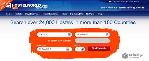 find and book hostels