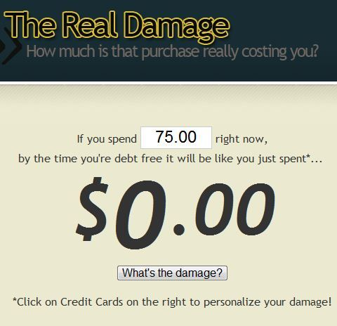 cost of credit card debt