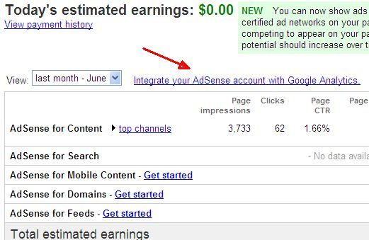 How To View Adsense Performance In Google Analytics & Why You'd Want To adsense1