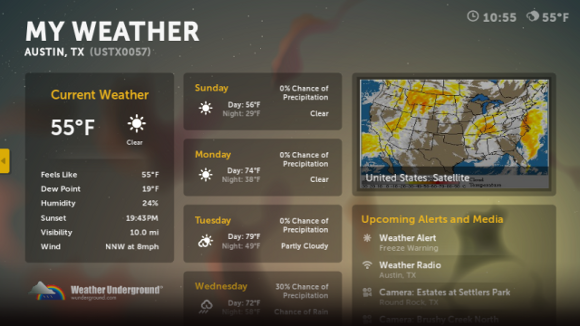 weather web sites