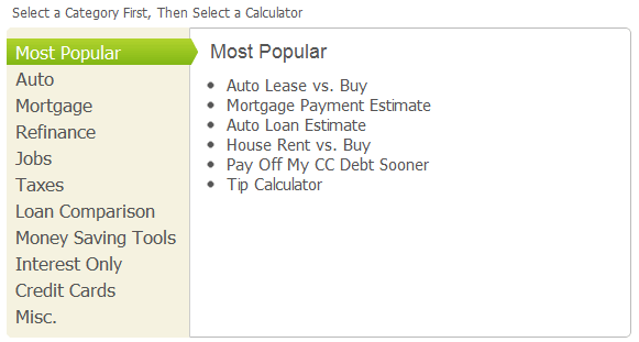 free financial calculators online