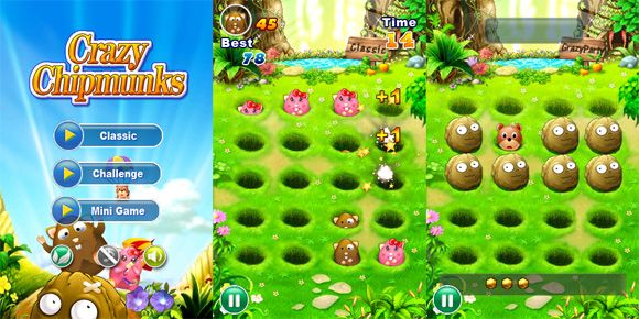 8 iPhone Games You Won't Believe Are Free chipmunks