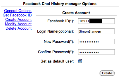 How To Save Your Complete Facebook Chat History createacc