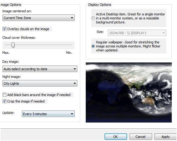 active desktop moving wallpaper