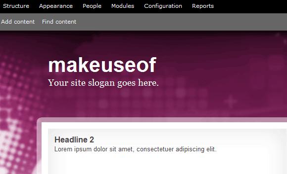 drupal based websites