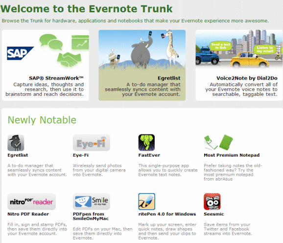 evernote addons