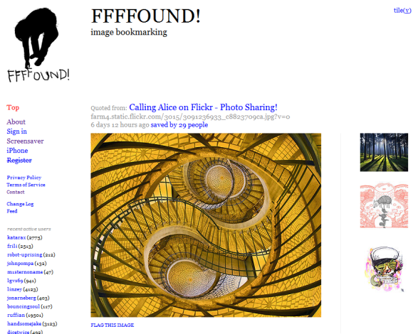The Top 5 Websites To Spark Your Creativity ffffound