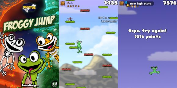 8 iPhone Games You Won't Believe Are Free froggyjump