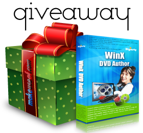 Easily Backup Home Video and Create DVDs with WinX DVD Author [Giveaway] giveawaydvdauthor