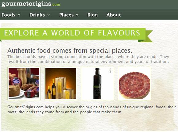 origin of gourmet