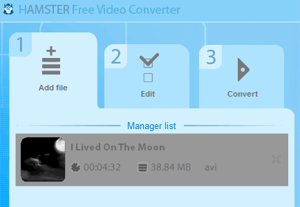 hamster   Hamster Video Converter: Batch Video Conversion Freeware For Windows