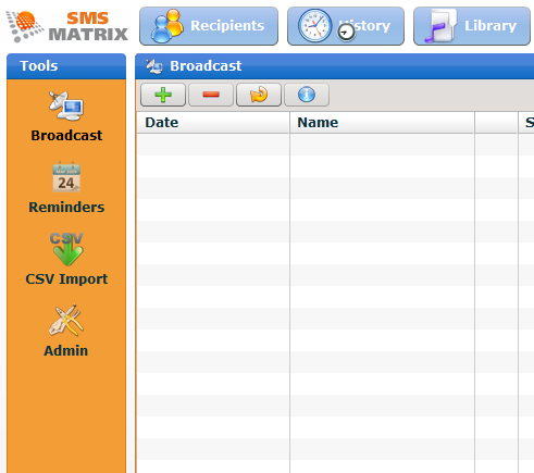 SMSMatrix: Group Messaging and SMS Broadcasting Service matrix3