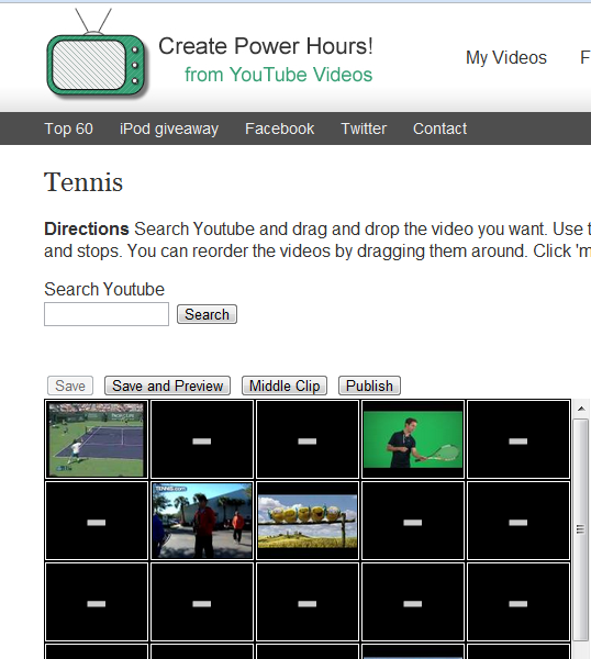 combine youtube videos
