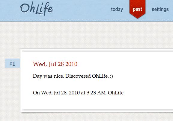 keep an online journal