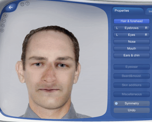 create a realistic face online