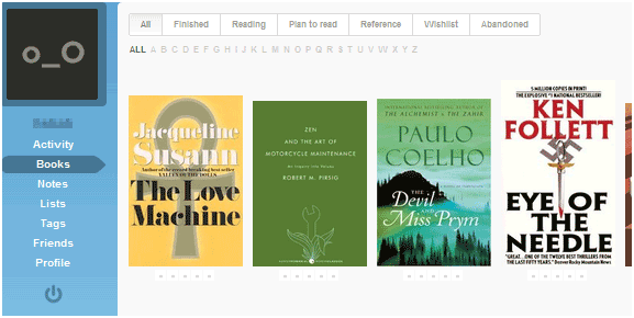 social network for book lovers