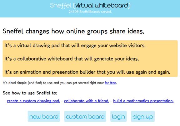web based whiteboard