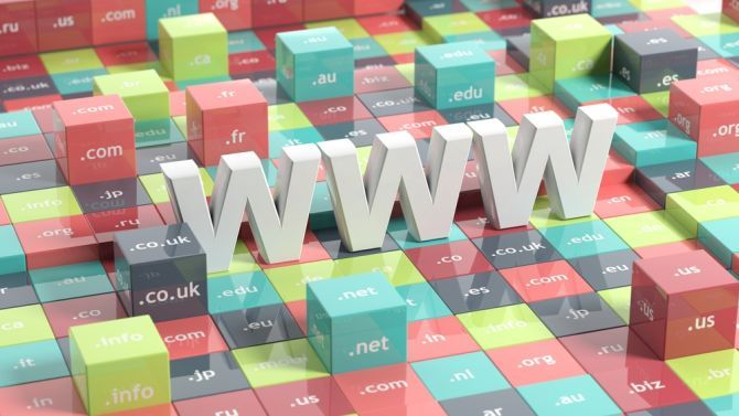 What URL Domain Extensions Stand For and Why They Are Needed tld cubes with www