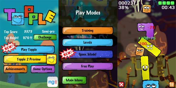 8 iPhone Games You Won't Believe Are Free topple