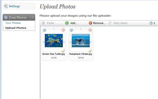 schedule flickr uploads