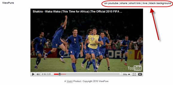 viewpure2   ViewPure: Watch YouTube Videos Without Ads & Other Clutter