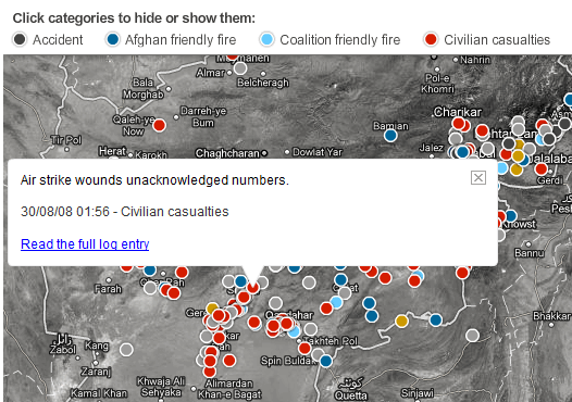 incidents in afghanistan