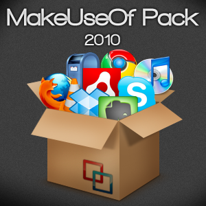 MakeUseOf Pack 2010: 20+ Essential Windows Apps in One Pack