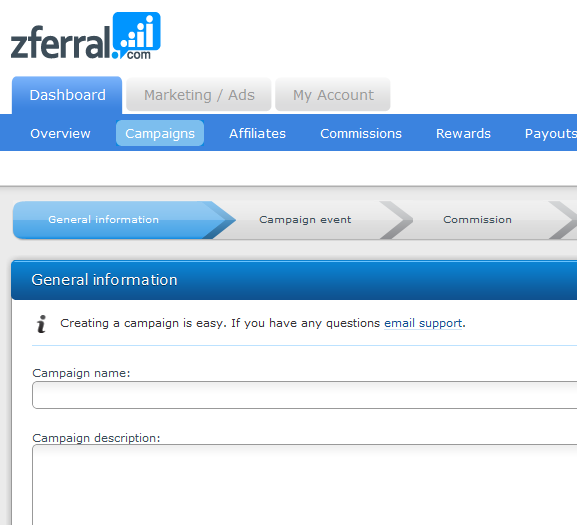 manage affiliate program
