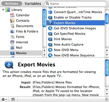 converting movies to itunes
