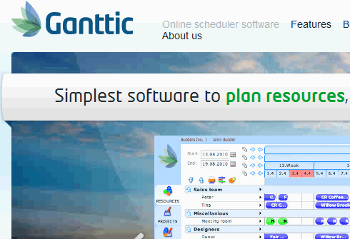 resource planning application