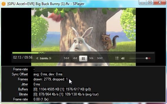 Splayer - A Portable Play-All Media Player for Windows 5