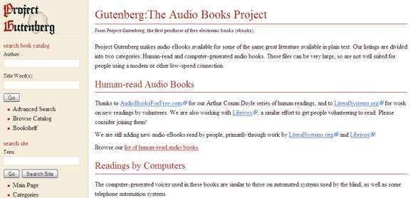 free audio books to download
