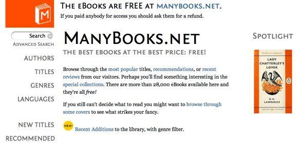 3 Good Online Sources For Free Ebooks & A Free Ereader App