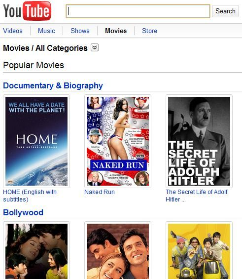Movies   YouTube Movies: View Full Length Movies On YouTube For Free