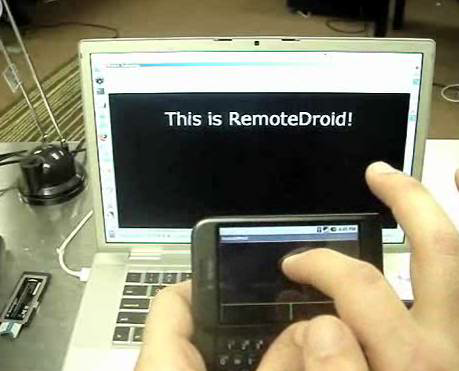 android phone as a mouse