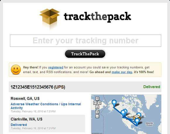 10 Package Tracking Websites for Alternative Ways to Track Your Shipments Package Tracking09