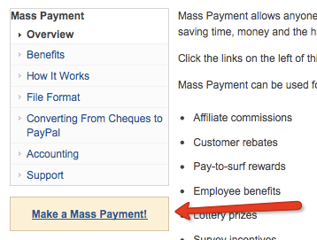 How to Use PayPal's Mass Payment Feature to Save Money PayPal Make a Mass Payment