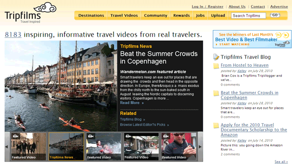 10 Websites For Virtual Sightseeing With Travel Videos Travel02