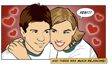 8 Creative Ways to Pop the Question Online Webcomic Proposal