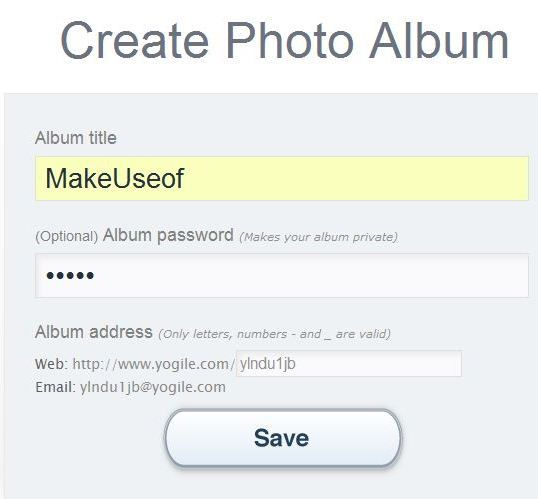 secure picture sharing