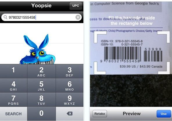 app1   Yoopsie: Search for Products By Barcode Or UPC Numbers