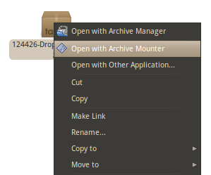 Mount Any Archive File In Two Clicks [Ubuntu]