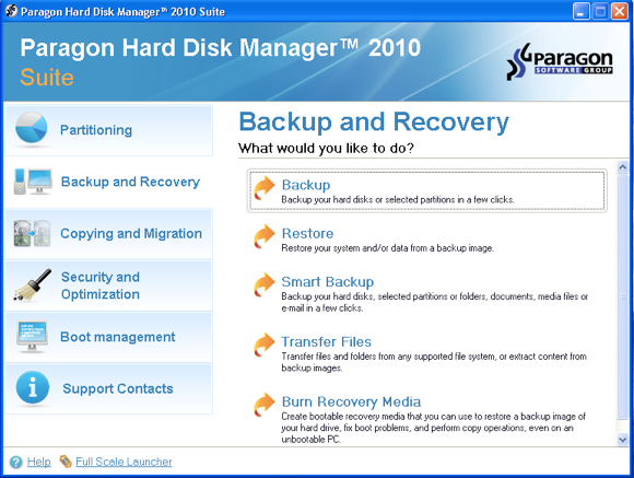 Easily Create & Manage Disk Partitions with Paragon Hard Disk Manager [Giveaway] backup